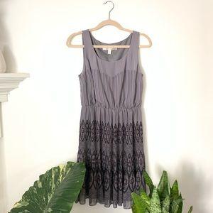 LC Lauren Conrad • Deep Lavender Pleated Dress
